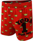 DISNEY STAR WARS Men's Yoda One For Me Boxer Shorts - Red $7.44 USD on eBay