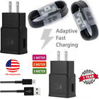 Adaptive Fast Wall Charger Adapter+Micro USB Cable for Samsung Galaxy S7 Note 5