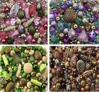 Mixed Lot Jewellery Making Beads 80g Multi Colour
