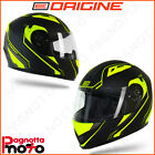 CASCO INTEGRALE ORIGINE HELMETS TONALE POWER MATT YELLOW - BLACK | GIALLO OPACO