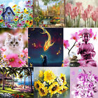 5D DIY Full Drill Diamond Painting Bird Flower Cross Stitch Embroidery Kit Decor