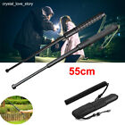 Portable Retractable Three Sections Telescopic Stick Crowbar Outdoor Safety Tool