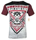 AMERICAN FIGHTER Mens T-Shirt GALESVILLE Athletic Biker MMA Gym $40 image