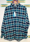 New Sonoma Mens Stretch Flannel Long Sleeve Shirts $13.99 Free Shipping Box 15