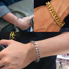 Unisex Link Chain Bracelet Stainless Steel  Chains Bracelets Fashion Jewelry New