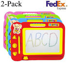 2X Kid Color Magnetic Writing Painting Drawing Doodle Board Toy Preschool Tool