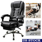High Back Leather Recliner Racing Gaming Chair Ergonomic Office Chair Adjustable