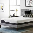 "LUCID 10"" 12"" Gel Memory Foam Mattress Bed Triple-Layered -CertiPUR-US Certified image"