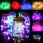 1m~10m Led String Lights Copper Wire Waterproof Outdoor Fairy Led Decor Garland