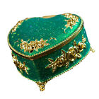 Clamshell Jewelry Storage Case Table Room Decoration Alloy Gift Packing Box