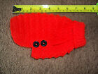 Hand Knitted 6 Inch Jumper/Coat for XX Small Dog/Cat/Puppy/Kitten Chihuahua