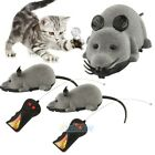 2 Wireless Remote Control Rat Cute Mouse For Cat Dog Pet Toy Funny Novelty Gift