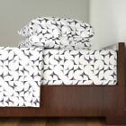 Abstract Mid Century Tiles Surf'S Up 100% Cotton Sateen Sheet Set by Roostery