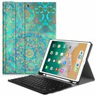 Bluetooth Keyboard with Protective Case Cover For iPad Air 9.7/ iPad Pro 10.5