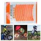 Balancing Bicycle Reflective Stickers Reflector Security Wheel Rim Decal Tapes