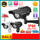 Solar Power Dummy Fake Security RED LED CCTV CCD Camera Surveillance Varities