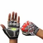 Bicycle Cycling Half Finger Gloves MTB Mountain Bike GEL Silicone Pad Fingerless