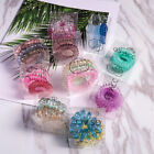 Elastic Spiral Coil Hair Ties Ponytail Holders Phone Cord Hair Ring Rope 1 Set
