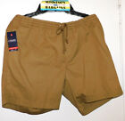 New Mens Chaps Comfort Elastic Waistband Tie Close Shorts $15.99 Free Shipping
