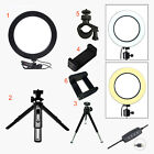 LED Ring Light/Camera Tripod Stand/Phone Mount Kit for YouTube Live Video Makeup