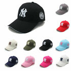 Basic NY New York Yankees Baseball Cap Men Women Snapback B-boy Hip Hop Ball Hat on Ebay