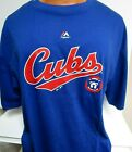 CHICAGO CUBS LOGO SHIRT NEW MAJESTIC MENS BIG TALL SIZES XLT-4XL on Ebay