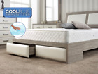 Ortho Memory sprung Foam New Quilted Spring Matress 3ft 4ft6 5ft Matress UK MADE