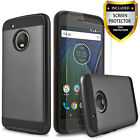 For Motorola Moto G5 Plus Phone Case, Shockproof Cover+ HD Screen Protector