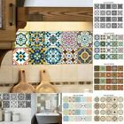 20pcs Adhesive Tile Wall Floor Stickers Mosaic Decal Vinyl Diy Art Kitchen Decor