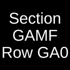 4 Tickets The Four Horsemen - Tribute to Metallica 6/14/19 Chicago, IL