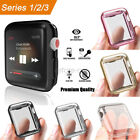 2 Pack Full Body TPU Protective Cover Case For Apple Watch Series 3 2 42mm 38mm image