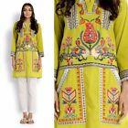 Samina B's Embroidered Kurtas-Designer wears -Available In 3 Sizes