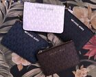 Michael Kors Coin Pouch Wallet Card ID Case with Key Chain Holder Bag MK $148