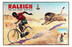 152613 Raleigh Bicycles Vintage Advertising Print Decor Wall Poster Print