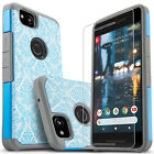 For Google Pixel 2 & 2 XL Phone Case, Drop Protection Cover+HD Screen Protector
