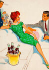 Art Print POSTER / CANVAS Coca Cola Pin Up Girl#2 $30.4  on eBay