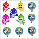 Baby Shark Balloons Baby Shark Party Decorations Mommy-daddy Shark