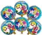 Set of 6 Baby Shark Birthday Balloons Party Supplies