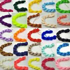 Hot Nylon Cord Thread Braid String 24 Colors For Chinese Knot Bracelet 1mm*26m