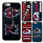 NHL Colorado Avalanche TPU Rubber Case For iPhone XS iPod & Samsung Galaxy S10+ $10.88 USD on eBay