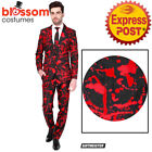 CA1027 Suitmiester Black Blood Vampire Dracula Goth Oppo Suits Opposuits Costume