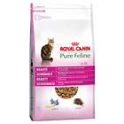 Royal Canin Pure Feline No.1 Beauty Cat Food 3KG 6KG + Free Feather Waggler Toy