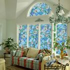 US Home Room Waterproof Glass Frosted Floral Window Self-Adhesive Wall Sticker