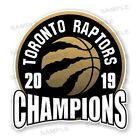 Toronto Raptors 2019 Champions Precision Cut Decal