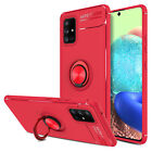 For Samsung Galaxy A20 A50 A30 Case Shockproof Slim Cover With Ring Holder Stand