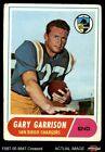 1968 Topps #36 Gary Garrison Chargers VG $0.99 USD on eBay