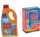 Duzzit Drain Away Drain Unblocker Cleaner Bathroom Shower Sink Blockage Remover