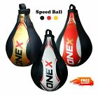Single End Leather Speed Ball Boxing Punch Bag Gym Punch Training Martial Arts