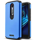 For Motorola Droid Turbo 2 Phone Case, Cover+Tempered Glass Screen Protector