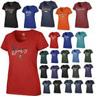 Officially Licensed NFL Women's Sparkle Dip Club Tee 601071-J $24.95 USD on eBay